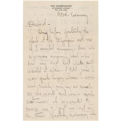 Victor Fleming Autograph Letter Signed