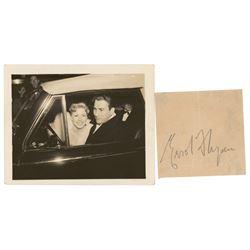Errol Flynn Signature