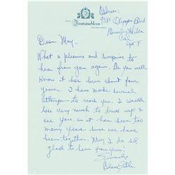 Clark Gable Autograph Letter Signed
