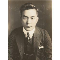 Sessue Hayakawa Signed Photograph