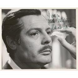 Marcello Mastroianni Signed Photograph