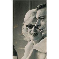 Marilyn Monroe and Joe DiMaggio Original Photograph