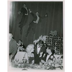 Marilyn Monroe and Sammy Davis, Jr. Original Photograph