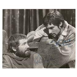 Peter O'Toole and Timothy Dalton Signed Photograph
