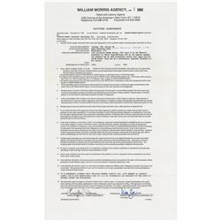 Christopher Reeve Document Signed