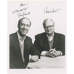 Siskel and Ebert Signed Photograph