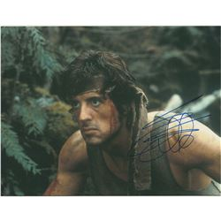 Sylvester Stallone Signed Photograph