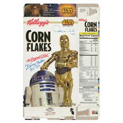 Star Wars: Baker and Daniels Signed Cereal Box