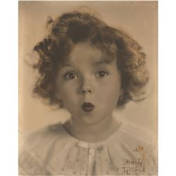 Shirley Temple Signed Photograph