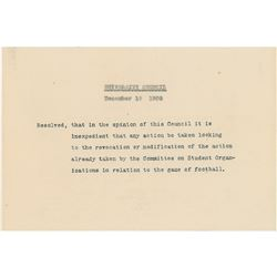 Columbia University Football Archive