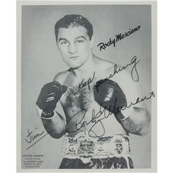 Rocky Marciano Signed Photograph