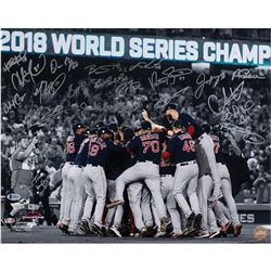 Boston Red Sox 2018 World Series Signed Photograph