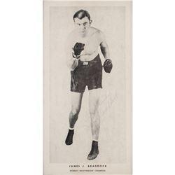 James J. Braddock Signed Photograph