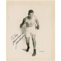 Jack Dempsey Signed Photograph