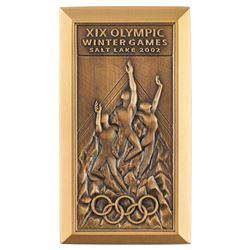 Salt Lake City 2002 Winter Olympics Bronze Participation Medal
