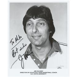 Jim Valvano Signed Photograph