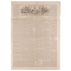 William Lloyd Garrison: 1863 The Liberator  Newspaper
