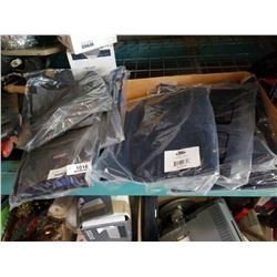 5 NEW CONDOR SIZE 40 PANTS AND 4 NEW CONDOR TOOL BIBS