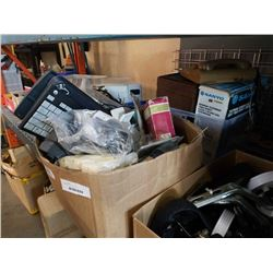 2 BOXES OF ELECTRONICS