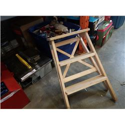 WORKFORCE TILE SAW AND WOOD 2 STEP LADDER