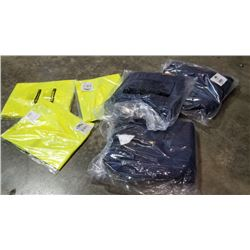3 new Condor vest size medium and 3 hi Vis safety vest size 3XL