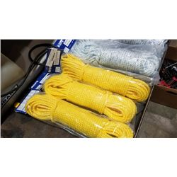 300 feet of new rope 5/16 in