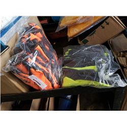 20 PAIRS OF NEW HIGH VIS WORK GLOVES