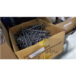 Box of pegboard hooks