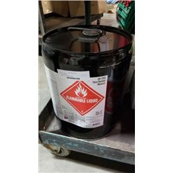 5 gallon jug of lacquer thinner