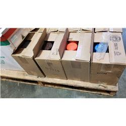 Four boxes of aerosol paint