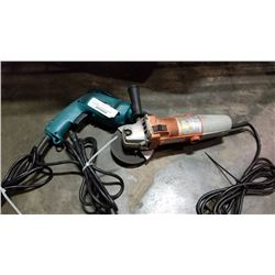 Chicago Electric angle grinder and Makita electric drill both working