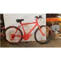 NO BRAND ORANGE BIKE