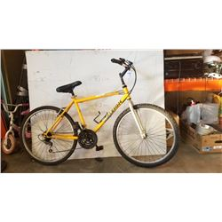YELLOW RALEIGH BIKE