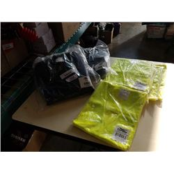 NEW CONDOR MEDIUM VESTS AND 5 NEW CONDOR 3XL SAFETY VESTS