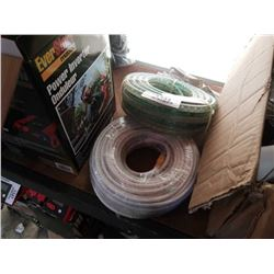 NEW ROPE LIGHT AND NEW 100FT SECURITY CAMERA CABLE