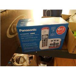 NEW PANASONIC KX-TGM470C CORDLESS PHONE WITH ANSWERING MACHINE