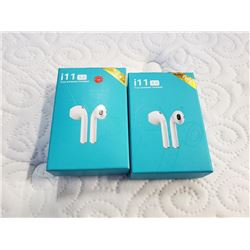 2 SETS OF I11 5.0 TRULY WIRELESS EARBUDS