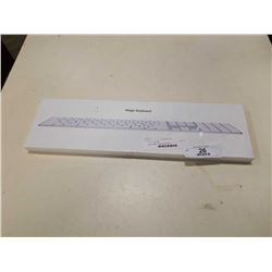 New Apple magic keyboard