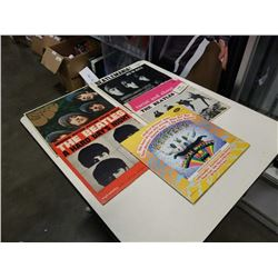 6 BEATLES RECORDS INCLUDING MAGICAL MYSTERY TOUR - ALL CAPITOL RECORDS LABELS, HARD DAY'S NIGHT IS U