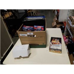 LARGE BOX OF VARIOUS SPORTS CARDS
