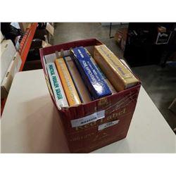 BOX OF HARDCOVER HOME IMPROVEMENT BOOKS