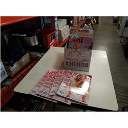 BOX OF VARIOUS ADULT MAGAZINES