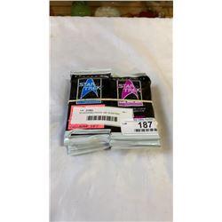 16 UNOPENED PACKS 1991 STARTREK CARDS 25TH ANNIVERSARY COLLECTOR SET