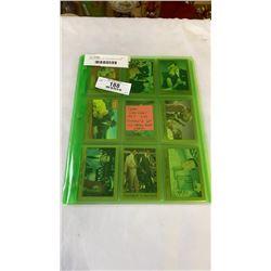 SEAN CONNERY 007  1993 COMPLETE SET 110 JAMES BOND CARDS