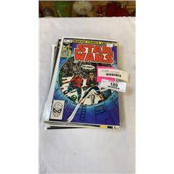 10 STARWARS COMICS 1983-2000S