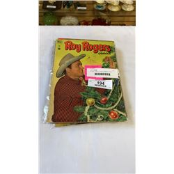 10 DELL 1950S 10 CENT COMICS - 5 ROY ROGERS, 5 LONE RANGERS