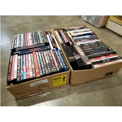2 TRAYS OF DVD AND DVD SETS