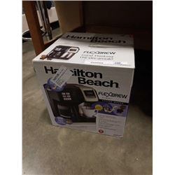 STORE RETURN HAMILTON BEACH FLEX BREW 2 WAY COFFEE MAKER