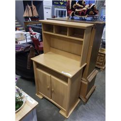 ONE PIECE HUTCH TOP CABINET
