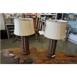 PAIR OF 1970 TABLE LAMPS